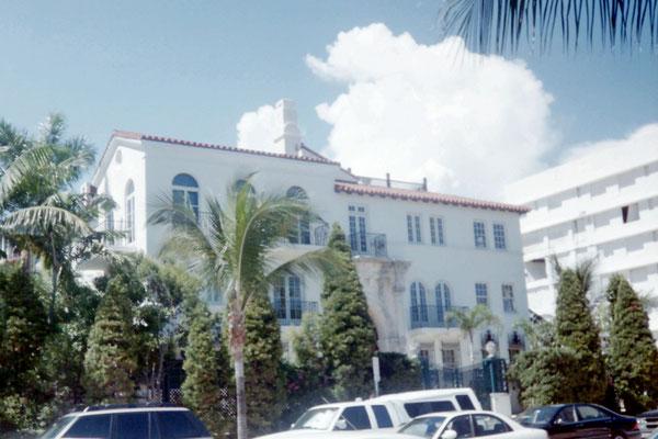 Miami Beach - Huis van Versace
