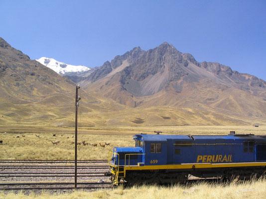 Onderweg naar Cusco