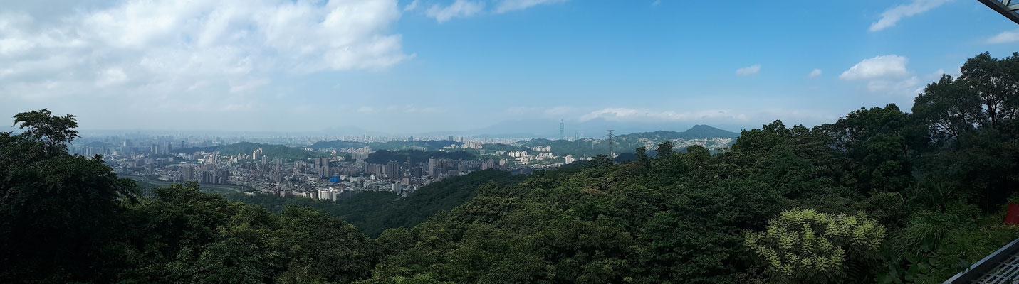 Uitzicht vanaf Maokong