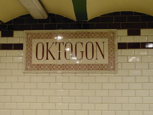 Metrostation van Lijn 1 uit 1896