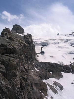 Uitzicht over de bergen vanaf de Titlis