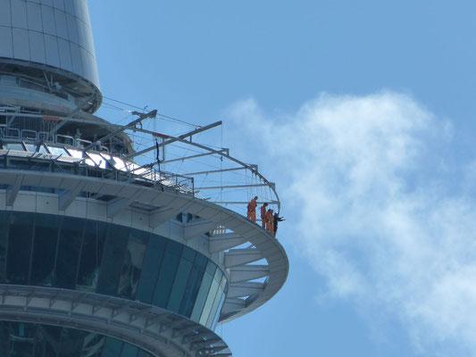 Skywalk op de SkyTower