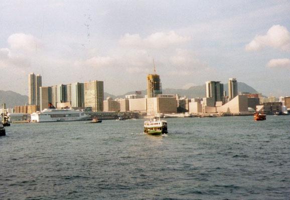 Ferry naar Kowloon