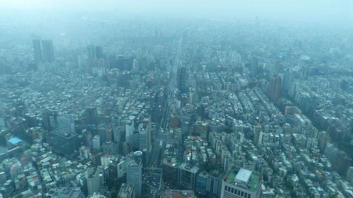 Taipei vanaf Taipei 101