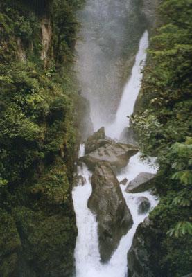 Waterval bij Baños