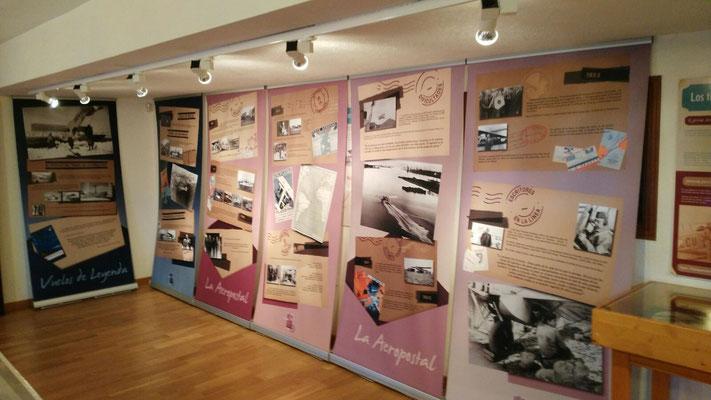 exposition memoire aeropostale Malaga 2015