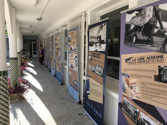 Exposition Itinérante Mémoire d'Aéropostale Tanger