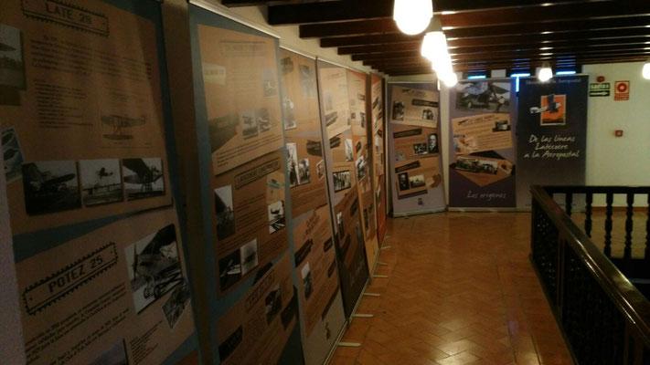 exposition les villes escales Malaga