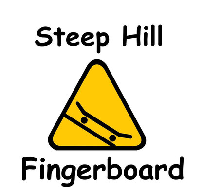 DECKS 34 MM *NEW* - Steep Hill Fingerboard