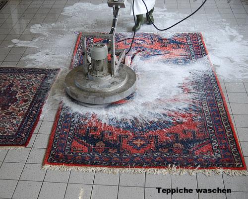 Teppiche waschen