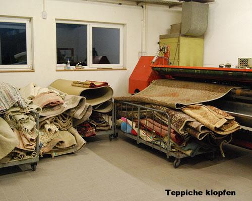 Teppiche klopfen