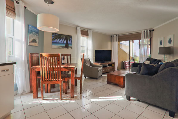 Cayman Reef #36 Dining and Living Area