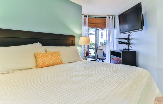 """Cayman Reef #17 King Bed and 42"""" TV"""