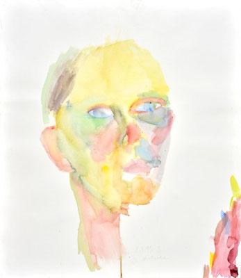 Portrait S. Aquarell
