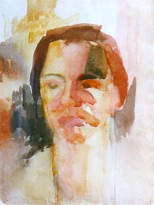 Porträt U. Aquarell