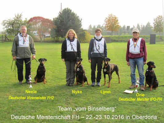 "DV-DM-FH 2016: Team ""vom Binselberg"""