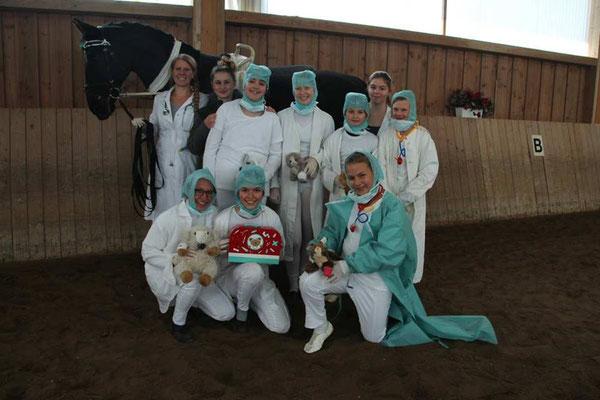 Oberland 6 mit Bube, Lena und Lilly
