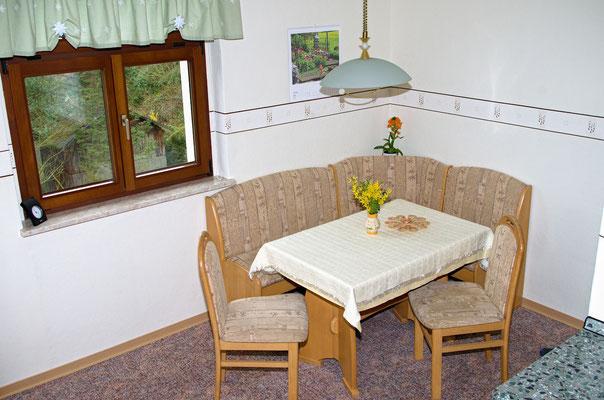 Wohnküche Sitzecke