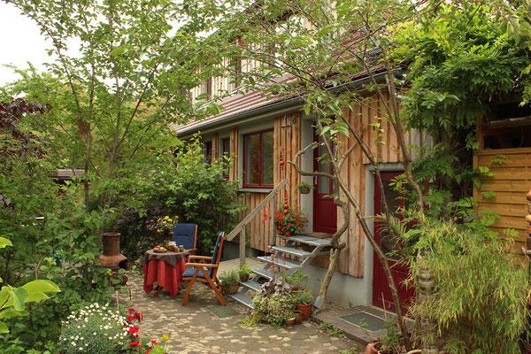 Ferienwohnung mit Gartenplatz
