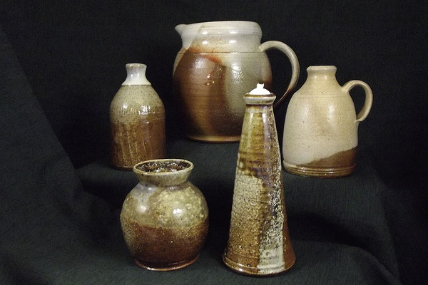 Keramiken aus dem Holzbrand