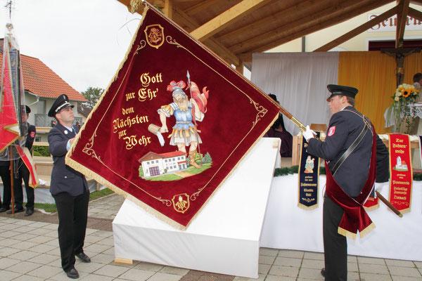 Die gesegnete Fahne