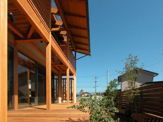 2004年竣工 高田の家(長野市)-外観