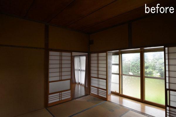 梓川の家Ⅱ(松本市)before