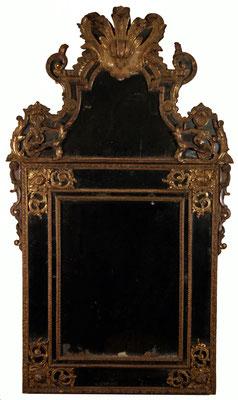 Adjugé 17 215 € - MIROIR à parecloses, époque Régence, 186 x 109 cm