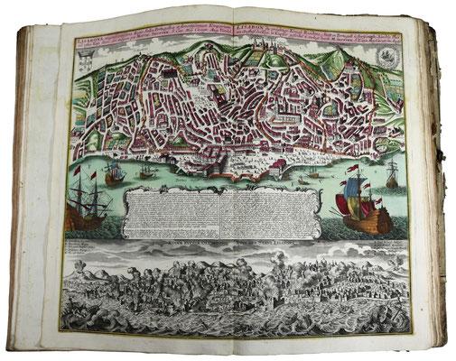 Adjugé 20 050 € - ATLAS de MERCATOR & HONDIUS, un volume in folio, Amsterdam, 1609
