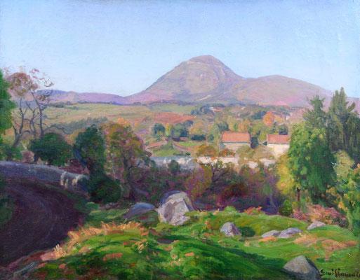 Adjugé 16 040 € - GUILLAUMIN Armand, Paysage, huile sur toile, 43 x 55 cm