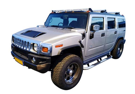 Adjugé 32 030 € - HUMMER H2 S Black Racing, 2005, 5104 Kms