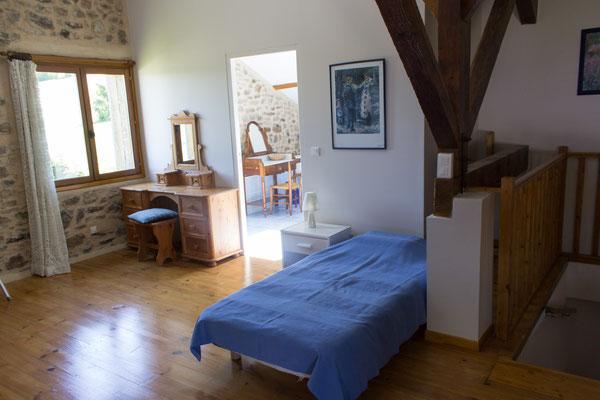 grande chambre étage, Gîtes et chambre d'Hôtes Peyrecout Tarn Cordes Albi