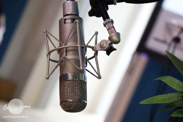 Noch alle Mikrofone vorhanden.