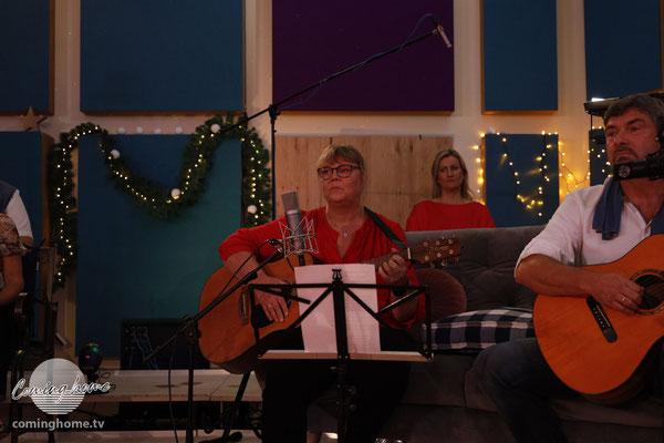Das Liedermacher-Paar ...