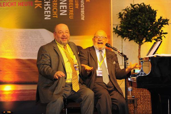 mit Johannes Vogel, Breckerfeld auf EINER Klavierbank