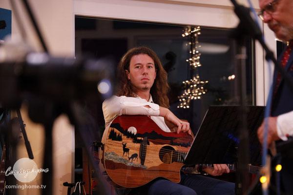 Klasse Maserung. Die Gitarre.