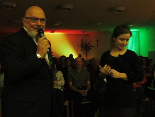 """mit Debora Kohler an einem Konzertabend """"Tasten berühren Seele"""""""