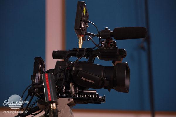 Kamera 4 wird von der Regie aus bedient.