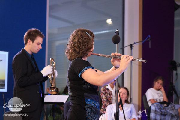Debora Kohler und Michael Fingerle - vor einem begeisternden Publikum!