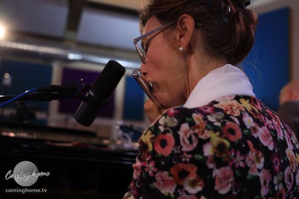 Susanne Knobloch-Ullrich, solistische Einlage an der Querflöte
