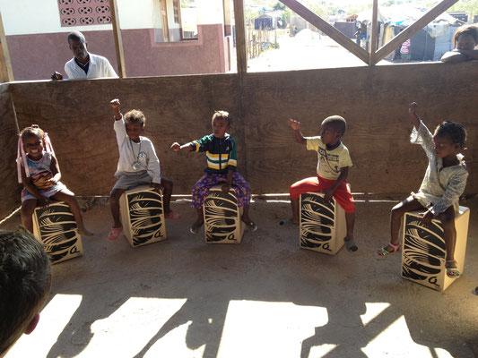 Cajon-Geschenke Haiti