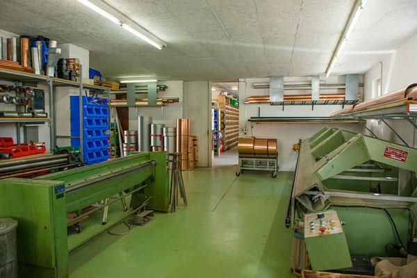 Spenglerarbeiten - Urs Pfister Hautechnik AG - Sanitäranlagen & Heizungen in Wangen an der Aare