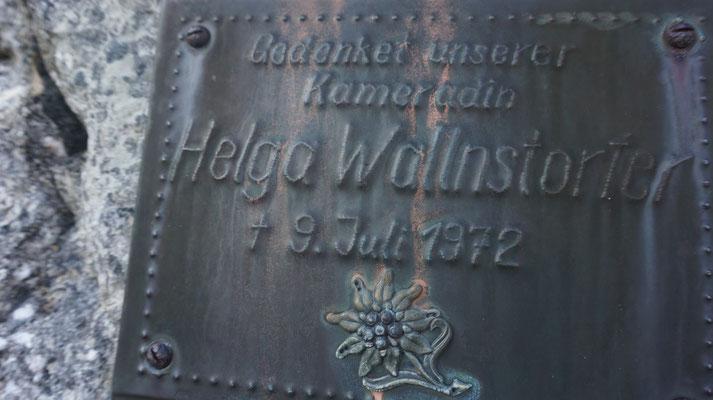 Helga Wallnstorfer Verunglückt 09.07.1972 Bergunfall Schermberg Nordwand