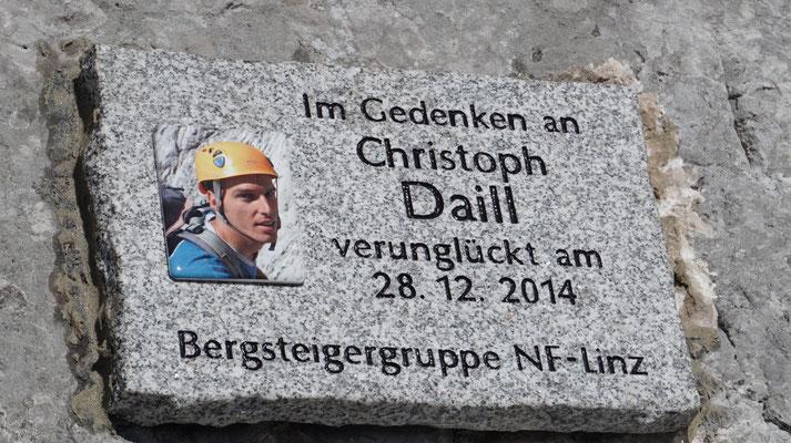 Christoph Daill Verunglückt 28.12.2014 Bergunfall  Hofersteig Gr.Phyrgas
