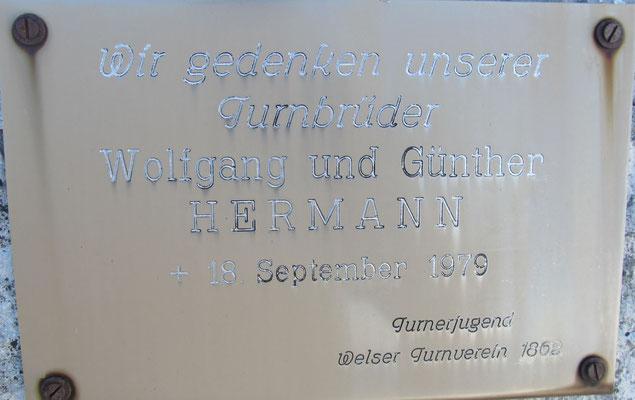 Wolfgang u. Günther Hermann Verunglückt 18.09.1979 Bergunfall Priel NW-Grat