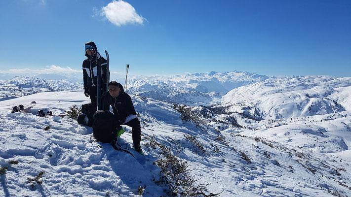 Gipfel Rosskogel