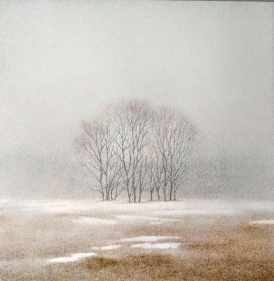 Nina Renzo  Titel: Winterabend Technik: Offsetdruck Jahr: unbekannt Format: 40 cm x 40 cm m. R.