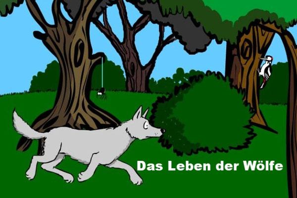 Das Leben der Wölfe