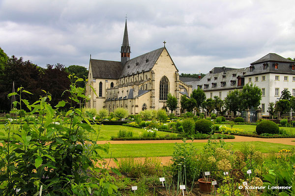Kräutergarten im Kloster Marienstatt