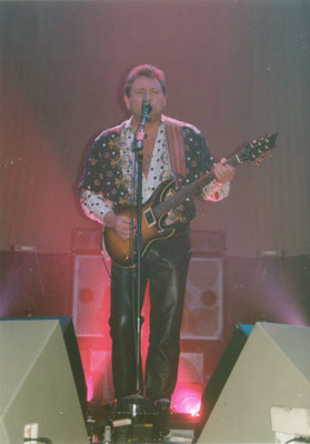 1992 Greg Lake in Essen, Foto: Ulli Engelbrecht
